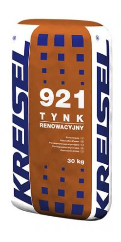 Реставрационная известково-цементная штукатурка, серая TYNK RENOWACYJNY 921 Kreisel